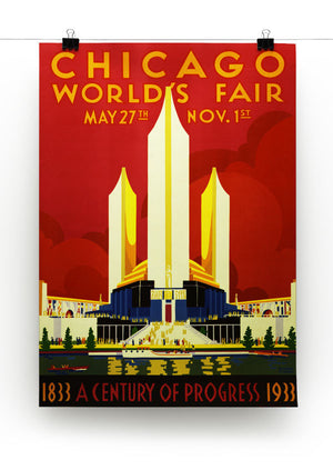 Chicago Worlds Fair 1933 Print - Canvas Art Rocks - 2