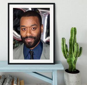 Chiwetel Ejiofor Framed Print - Canvas Art Rocks - 1
