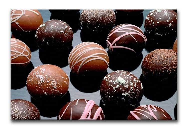 Chocolate Box Print - Canvas Art Rocks - 1