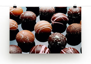 Chocolate Box Print - Canvas Art Rocks - 2