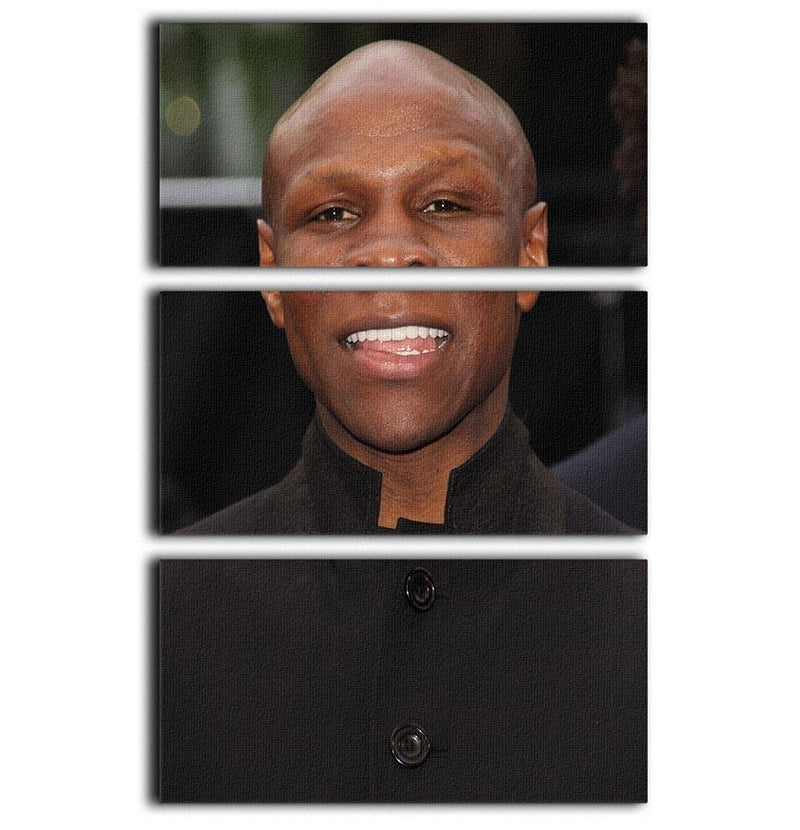 Chris Eubank 3 Split Panel Canvas Print - Canvas Art Rocks - 1