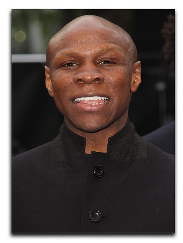 Chris Eubank Canvas Print or Poster  - Canvas Art Rocks - 1