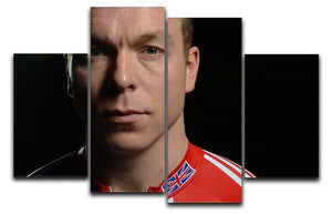 Chris Hoy 2012 4 Split Panel Canvas - Canvas Art Rocks - 1