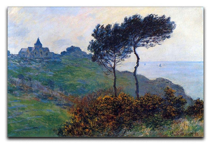 Church at Varengeville by Monet Canvas Print or Poster