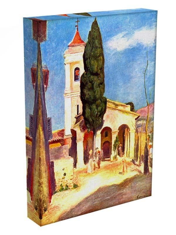 Church in Cagnes by Renoir Canvas Print or Poster - Canvas Art Rocks - 3