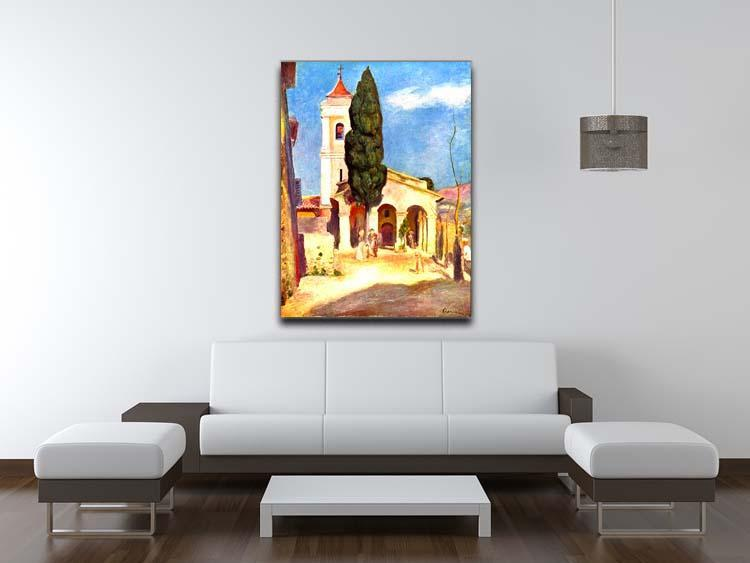 Church in Cagnes by Renoir Canvas Print or Poster - Canvas Art Rocks - 4