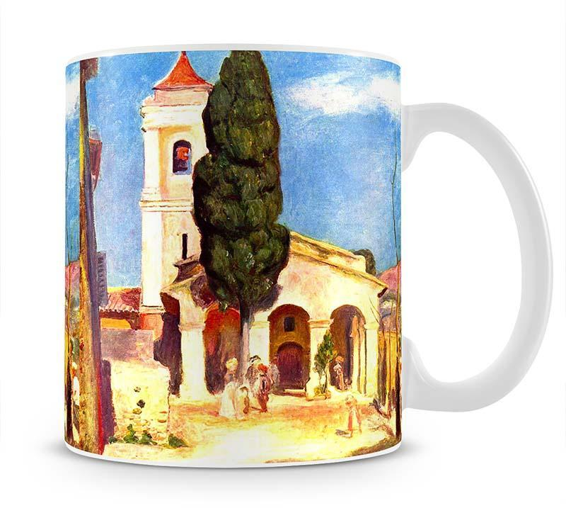 Church in Cagnes by Renoir Cup - Canvas Art Rocks - 1