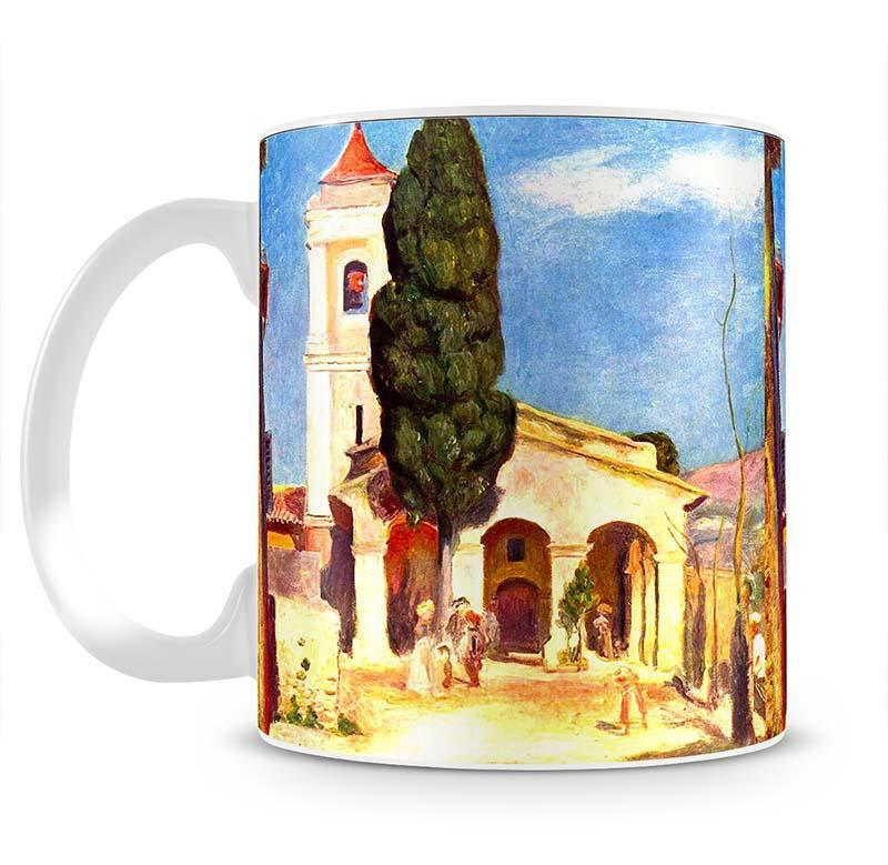 Church in Cagnes by Renoir Cup - Canvas Art Rocks - 2