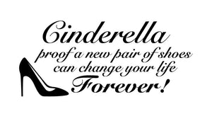 Cinderella Wall Decal - Canvas Art Rocks - 2