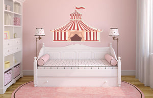 Circus Tent Wall Decal - Canvas Art Rocks - 1