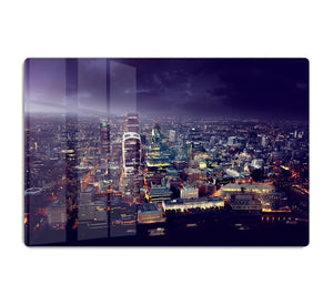 City of London At Sunset HD Metal Print