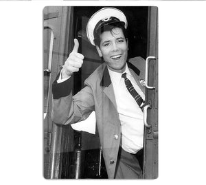 Cliff Richard on a bus HD Metal Print - Canvas Art Rocks - 1