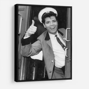 Cliff Richard on a bus HD Metal Print - Canvas Art Rocks - 6