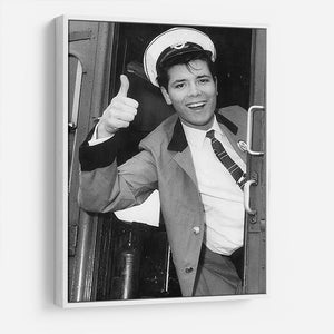 Cliff Richard on a bus HD Metal Print - Canvas Art Rocks - 7