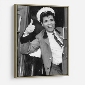 Cliff Richard on a bus HD Metal Print - Canvas Art Rocks - 8
