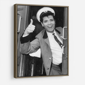 Cliff Richard on a bus HD Metal Print - Canvas Art Rocks - 10