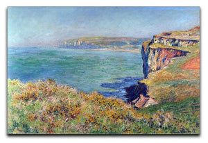 Cliffs at Varengeville by Monet Canvas Print & Poster  - Canvas Art Rocks - 1
