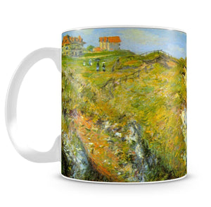 Cliffs by Monet Mug - Canvas Art Rocks - 4