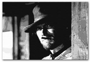 Clint Eastwood Fistful of Dollars Print - Canvas Art Rocks - 1