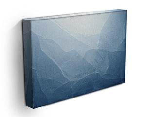 Closeup of blue ice background Canvas Print or Poster - Canvas Art Rocks - 3