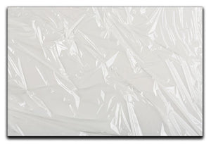 Closeup of wrinkled plastic Canvas Print or Poster  - Canvas Art Rocks - 1