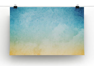 Cloudscape with grunge Canvas Print or Poster - Canvas Art Rocks - 2