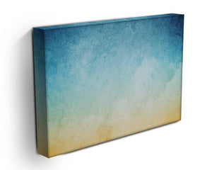 Cloudscape with grunge Canvas Print or Poster - Canvas Art Rocks - 3