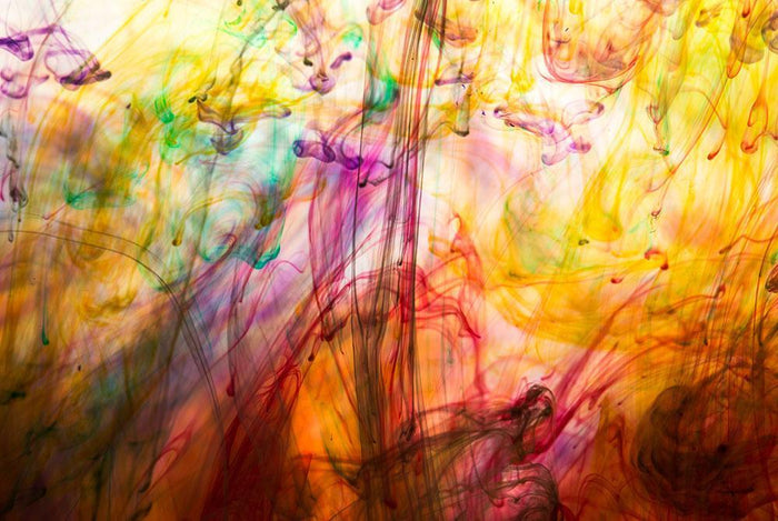 Colorful motion blur background Wall Mural Wallpaper