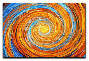 Colorful spiral fractal Canvas Print or Poster  - Canvas Art Rocks - 1