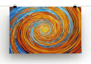 Colorful spiral fractal Canvas Print or Poster - Canvas Art Rocks - 2