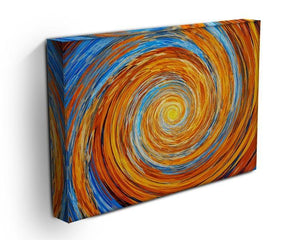 Colorful spiral fractal Canvas Print or Poster - Canvas Art Rocks - 3