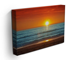 Colorful sunset over the sea Canvas Print or Poster - Canvas Art Rocks - 3
