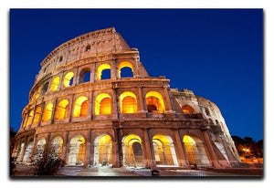 Colosseum Dome at dusk Canvas Print or Poster  - Canvas Art Rocks - 1