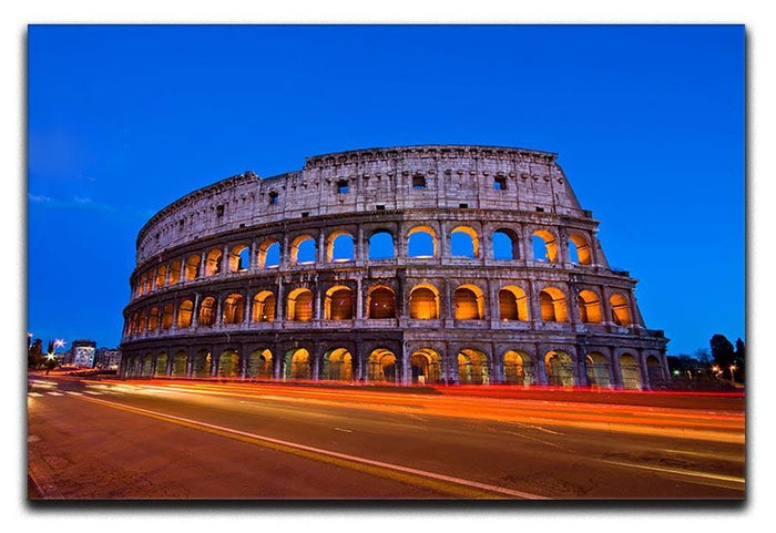 Colosseum at dusk Canvas Print or Poster