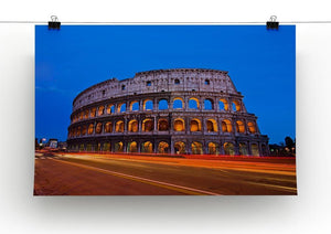 Colosseum at dusk Canvas Print or Poster - Canvas Art Rocks - 2