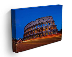 Colosseum at dusk Canvas Print or Poster - Canvas Art Rocks - 3
