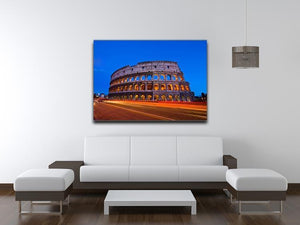 Colosseum at dusk Canvas Print or Poster - Canvas Art Rocks - 4