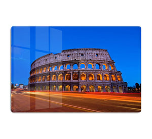 Colosseum at dusk HD Metal Print