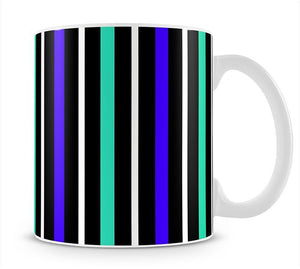 Colour Stripes FS1 Mug - Canvas Art Rocks - 1