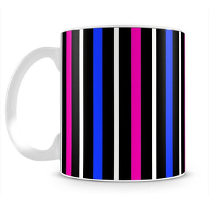 Colour Stripes FS3 Mug - Canvas Art Rocks - 2
