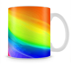 Colour Swirl Mug - Canvas Art Rocks - 1