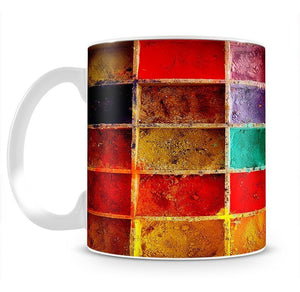 Coloured Squares Mug - Canvas Art Rocks - 2