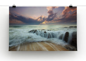 Colorful Misty Print - Canvas Art Rocks - 2