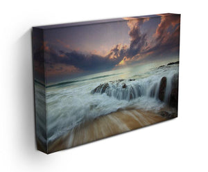 Colorful Misty Print - Canvas Art Rocks - 3