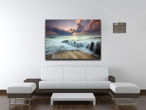 Colorful Misty Print - Canvas Art Rocks - 4