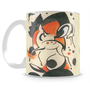Composition with two deer by Franz Marc Mug - Canvas Art Rocks - 2