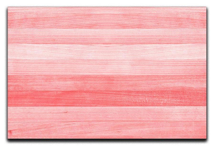 Coral pink or peach and salmon color Canvas Print or Poster