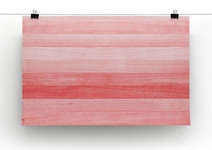 Coral pink or peach and salmon color Canvas Print or Poster - Canvas Art Rocks - 2