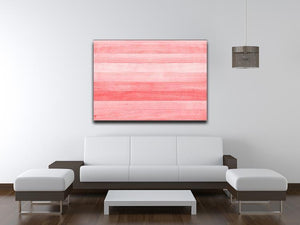 Coral pink or peach and salmon color Canvas Print or Poster - Canvas Art Rocks - 4