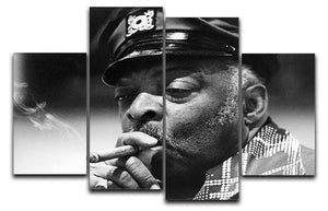Count Basie 4 Split Panel Canvas - Canvas Art Rocks - 1